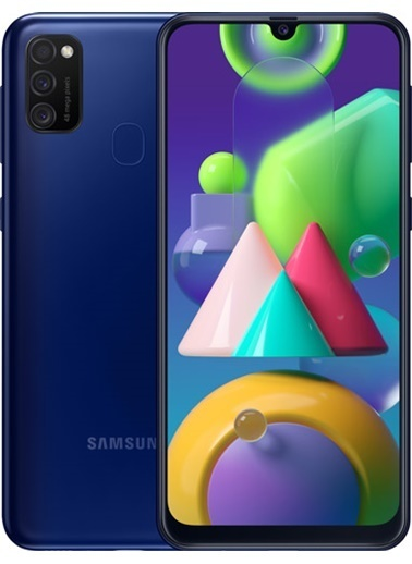 Samsung Galaxy M21 64Gb (Çift Sım) Mavi Cep Telefonu (Türkiye Garantili) Mavi